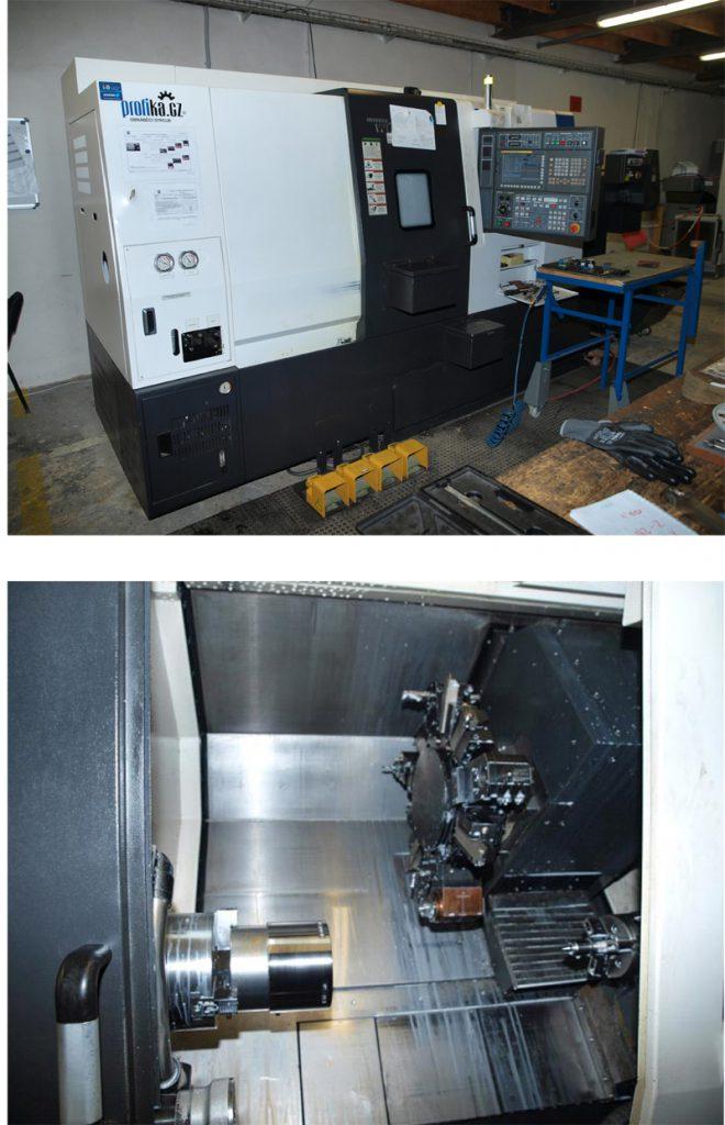 CNC soustružnické centrum Hyundai WIA L 200 SY